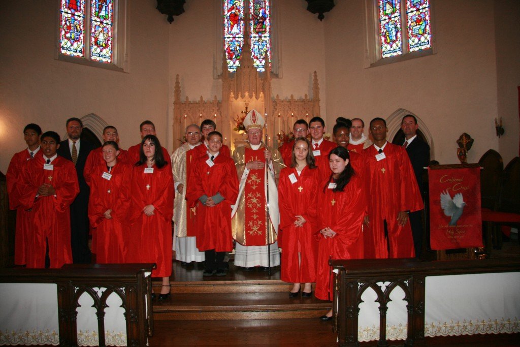 Confirmation Class of 2012 Photo credit Valerie Burkart